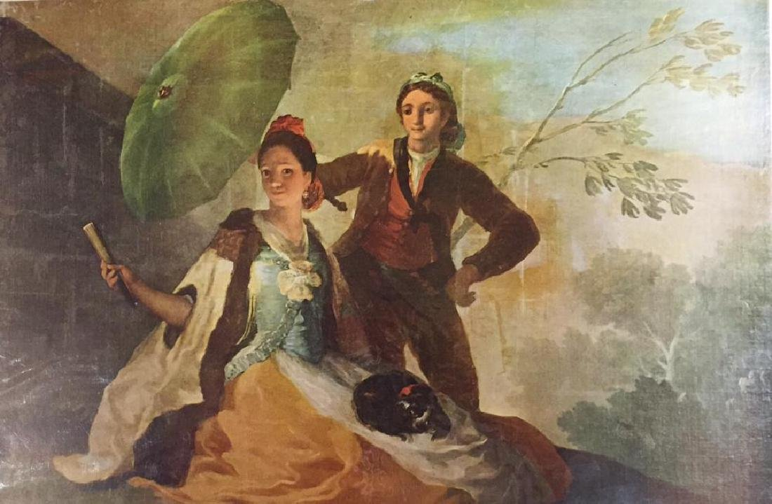 Francisco Jose de Goya y Lucientes The Parasol c.1777 - 2