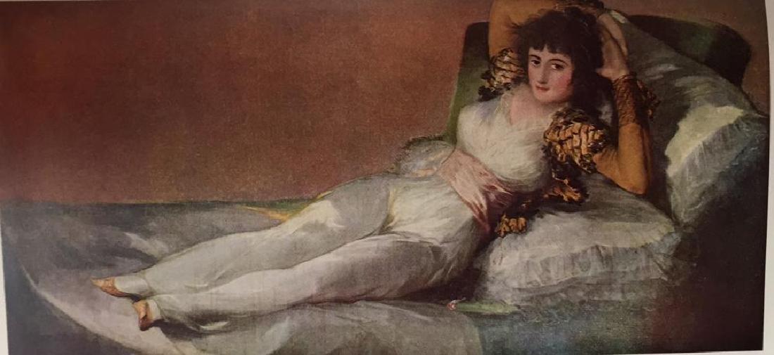 Francisco Jose de Goya y Lucientes The Maja Clothed - 2