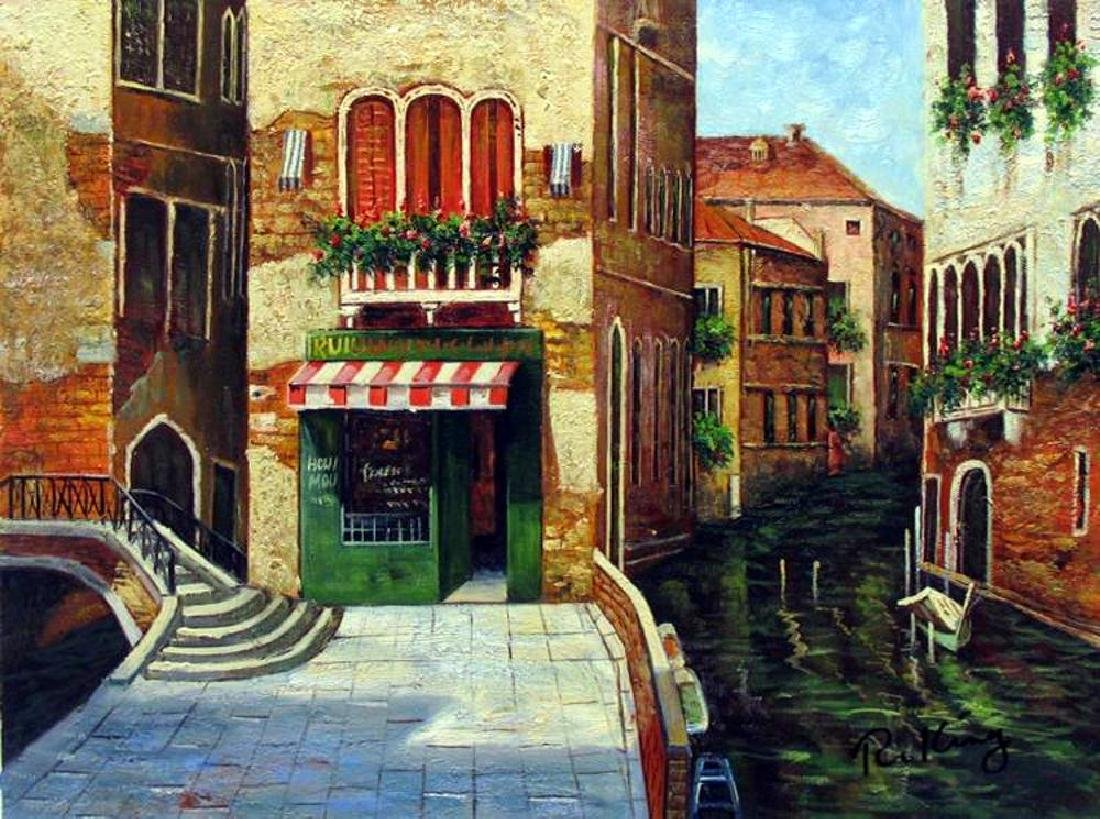 VENICE ORIGINAL PAINTING ONLY $100 DEALER SALE