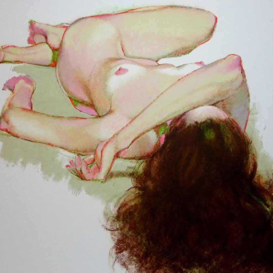 Nude Reclining Signed Limited Edition Litho in - 3