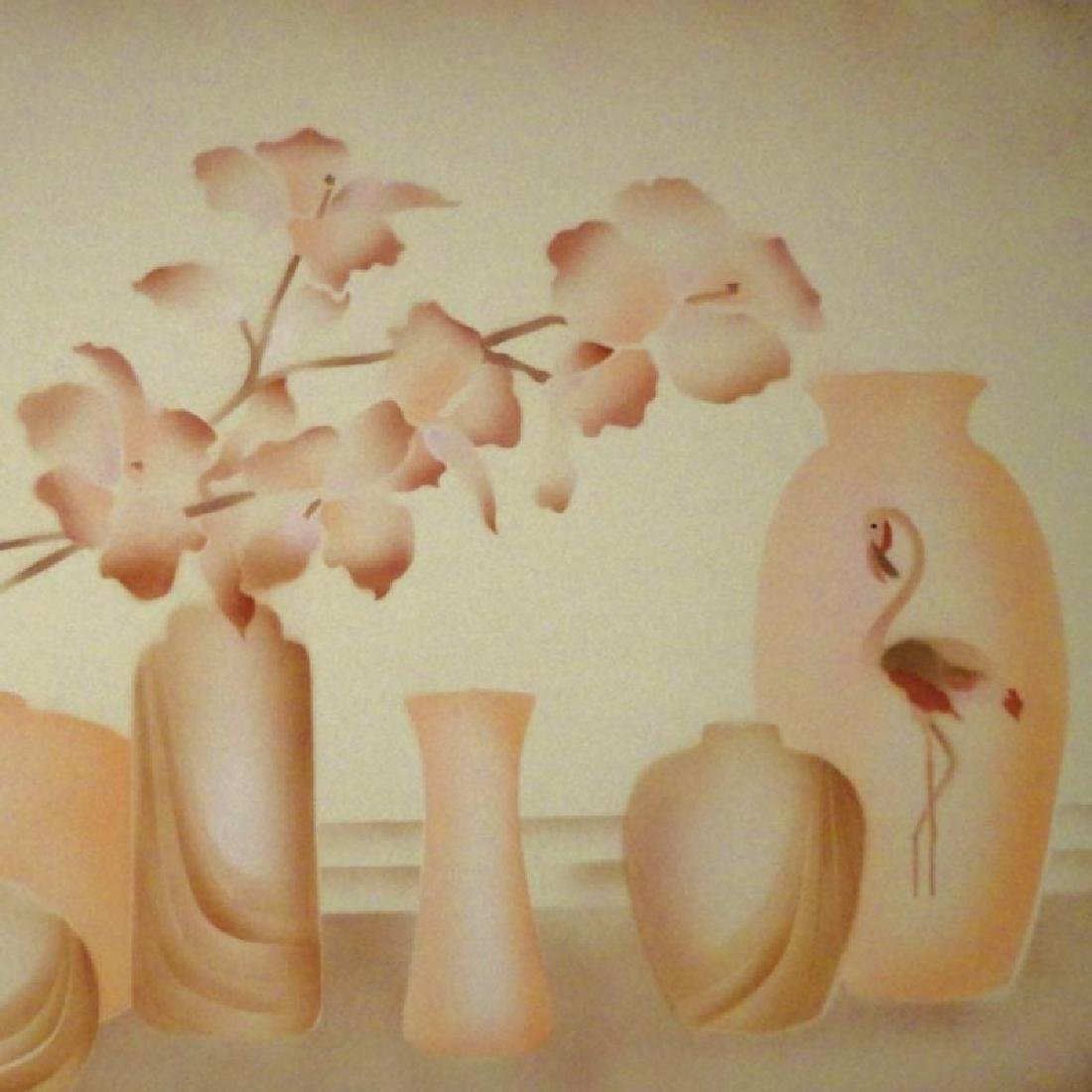 Vase Pastel Colored Limited Edition Litho - 3