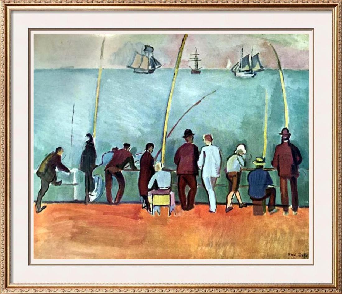 Raoul Dufy Fishermen with Lines c.1908 Fine Art Print