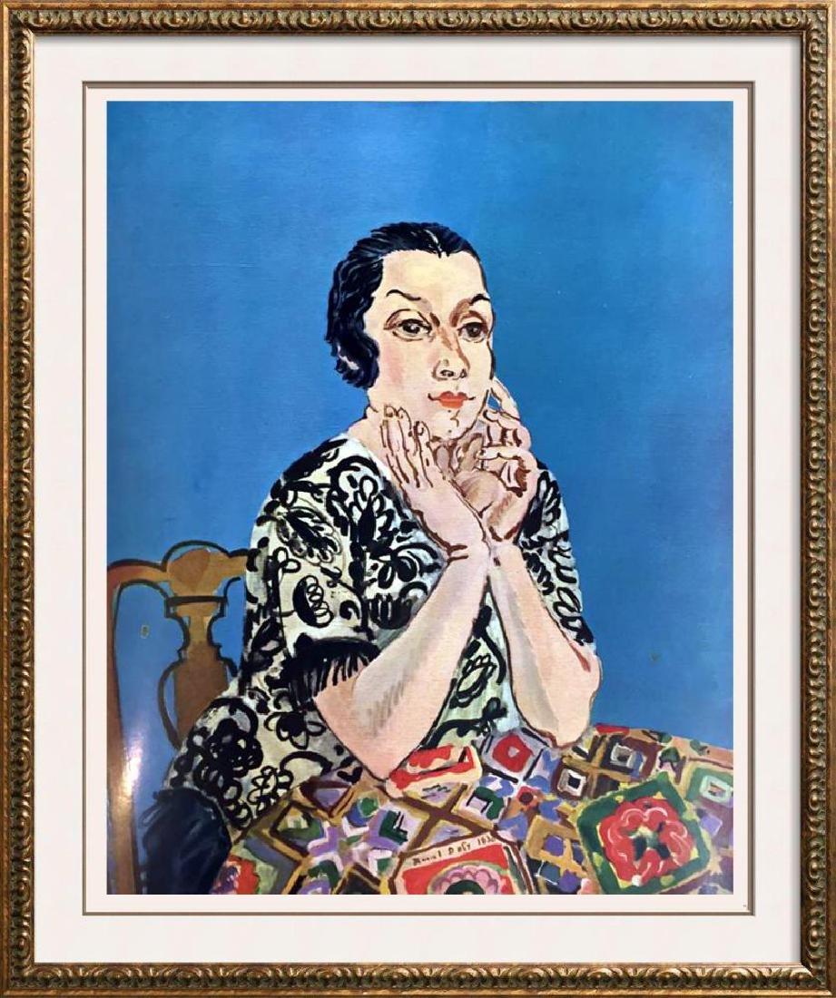 Raoul Dufy Portrait of MME Dufy c.1930 Fine Art Print