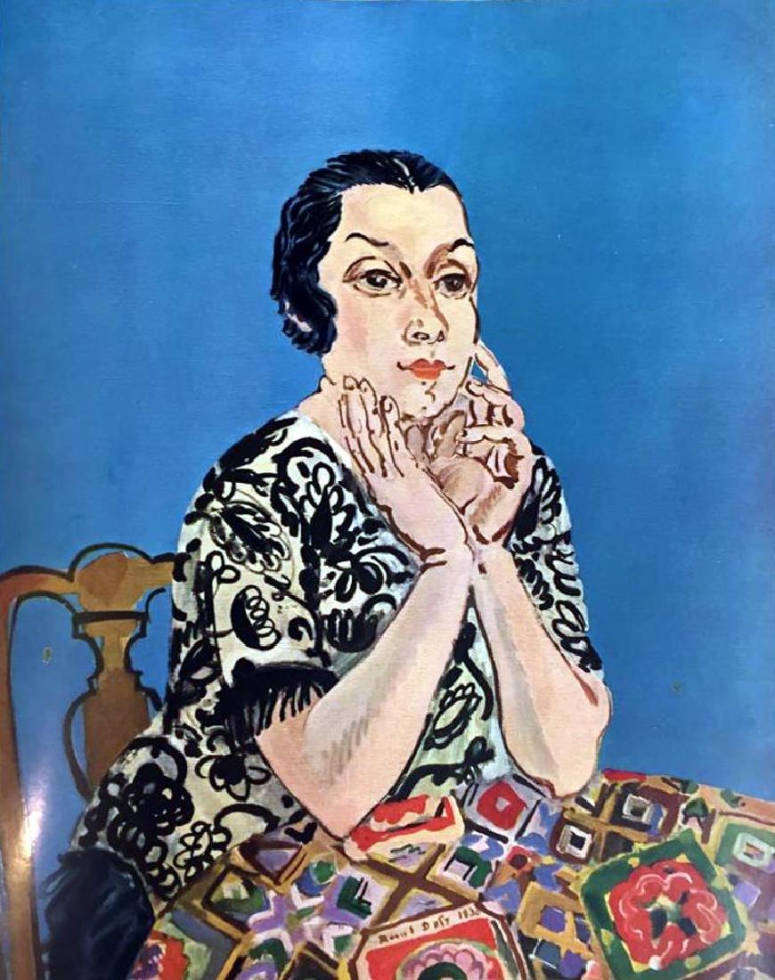 Raoul Dufy Portrait of MME Dufy c.1930 Fine Art Print - 2