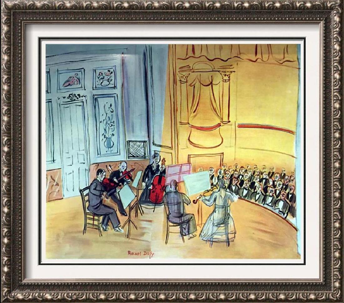 Raoul Dufy Chamber Music c.1948 Fine Art Print Signed