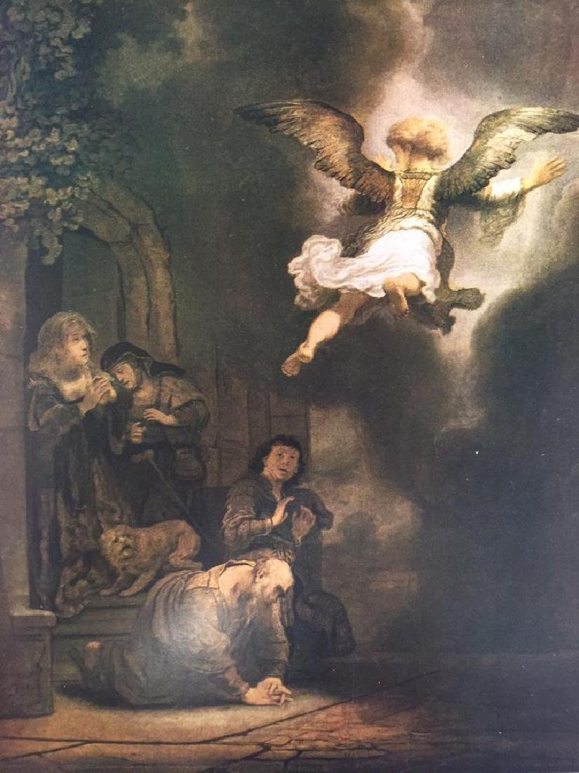 Rembrandt The Angel Leaving Tobias and his Family - 2