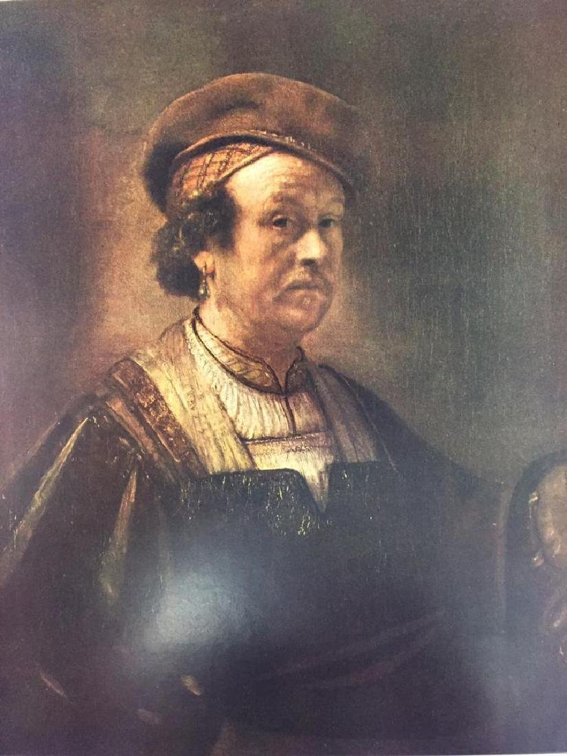Rembrandt Self-Portrait c.1650 Fine Art Print Signed in - 2