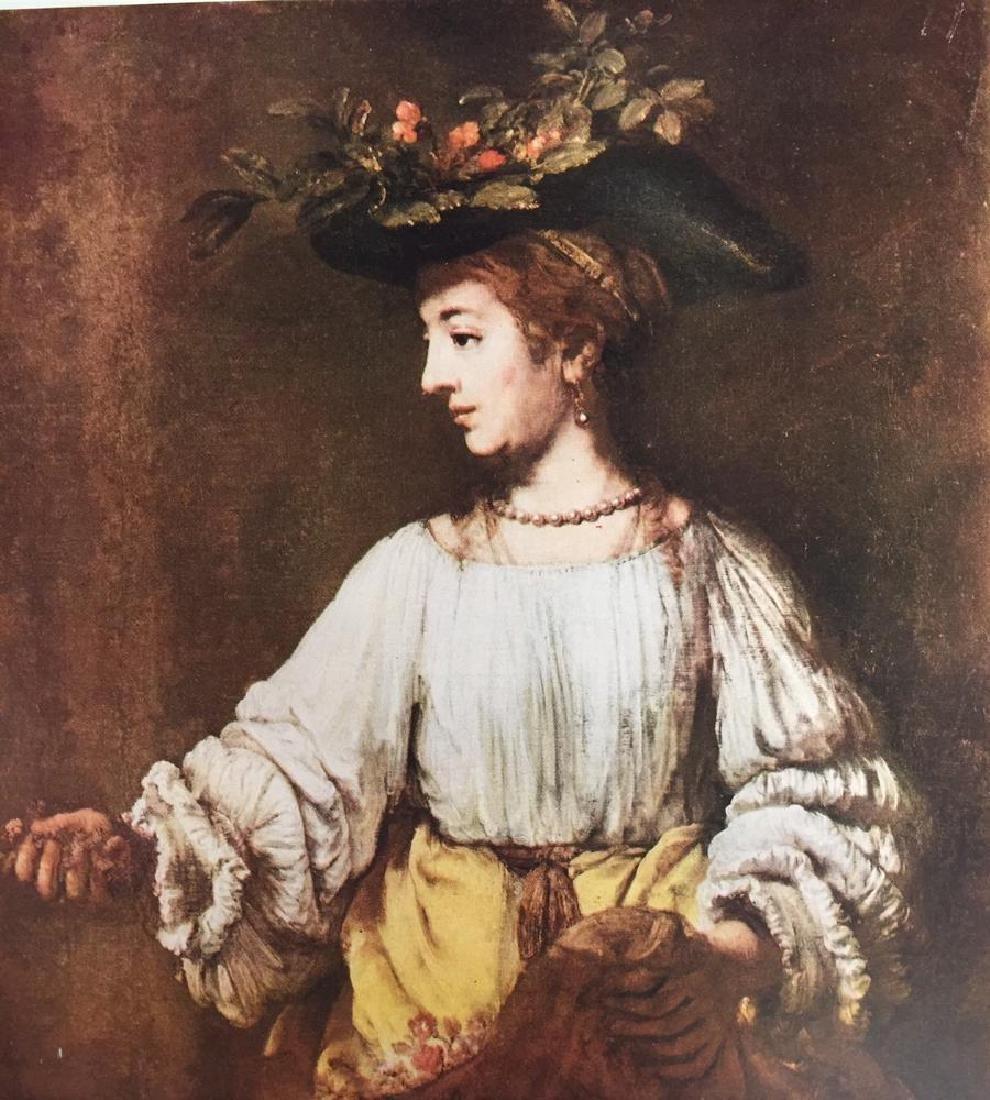 Rembrandt Flora c,1650 Fine Art Print Signed in Plate - 2