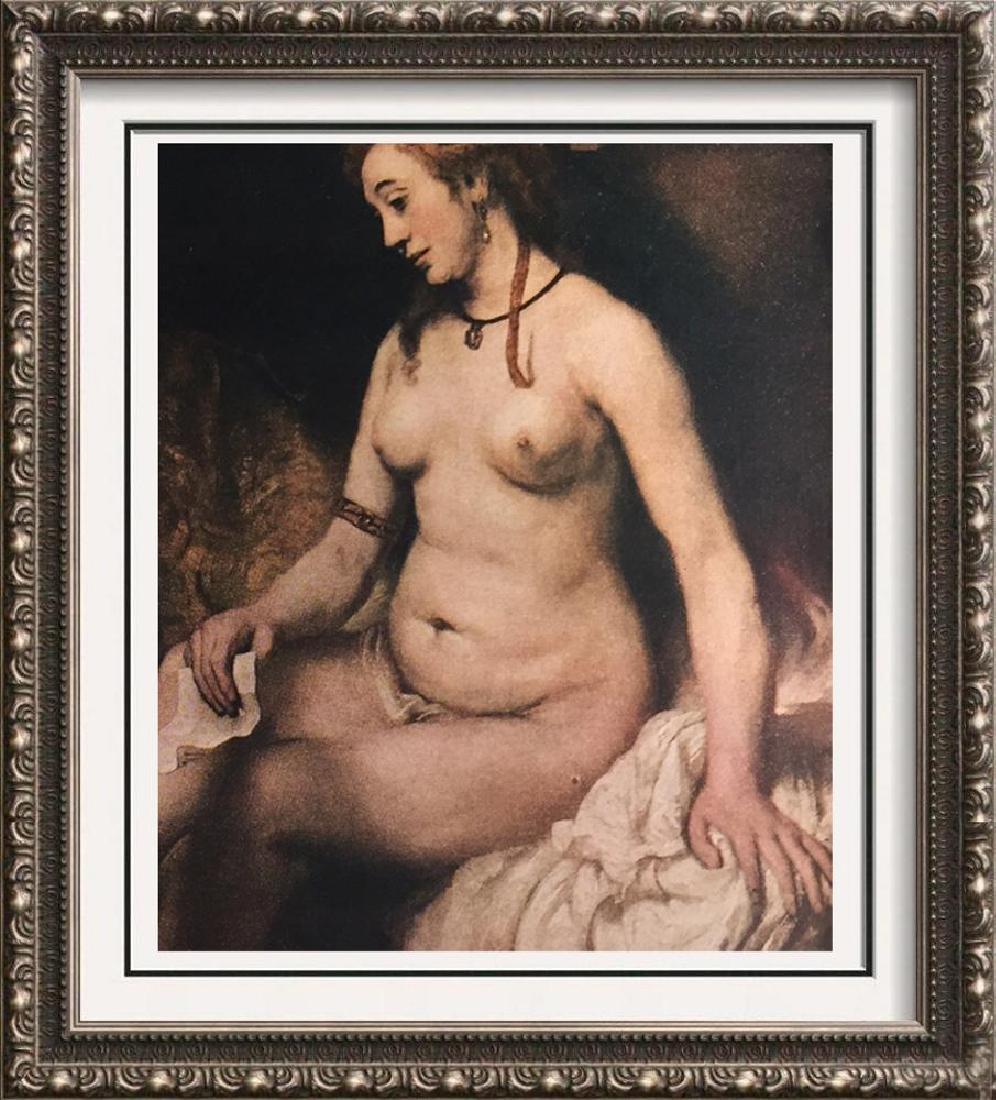 Rembrandt Bathsheba c.1654 Fine Art Print Signed in