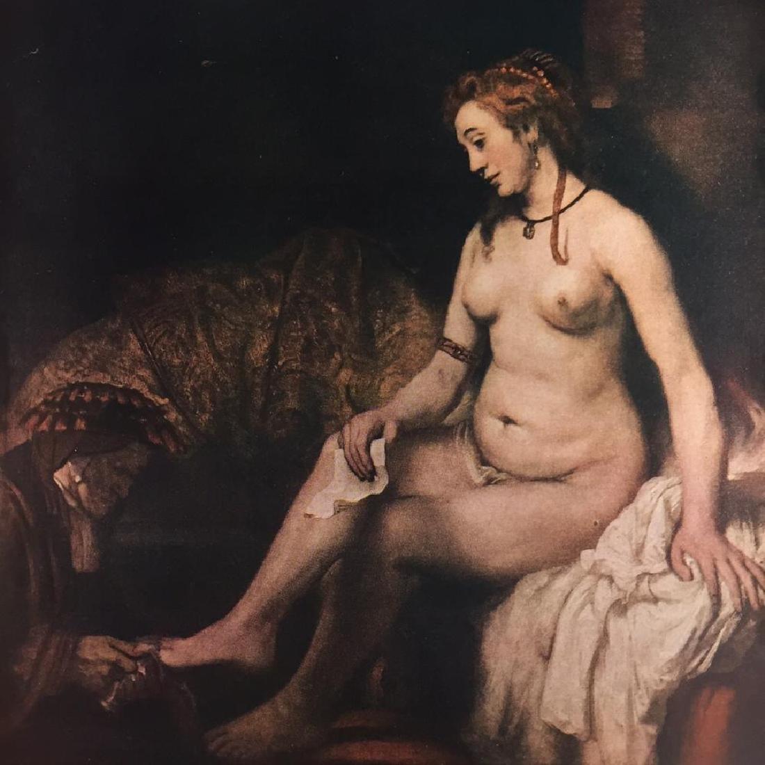 Rembrandt Bathsheba c.1654 Fine Art Print Signed in - 2