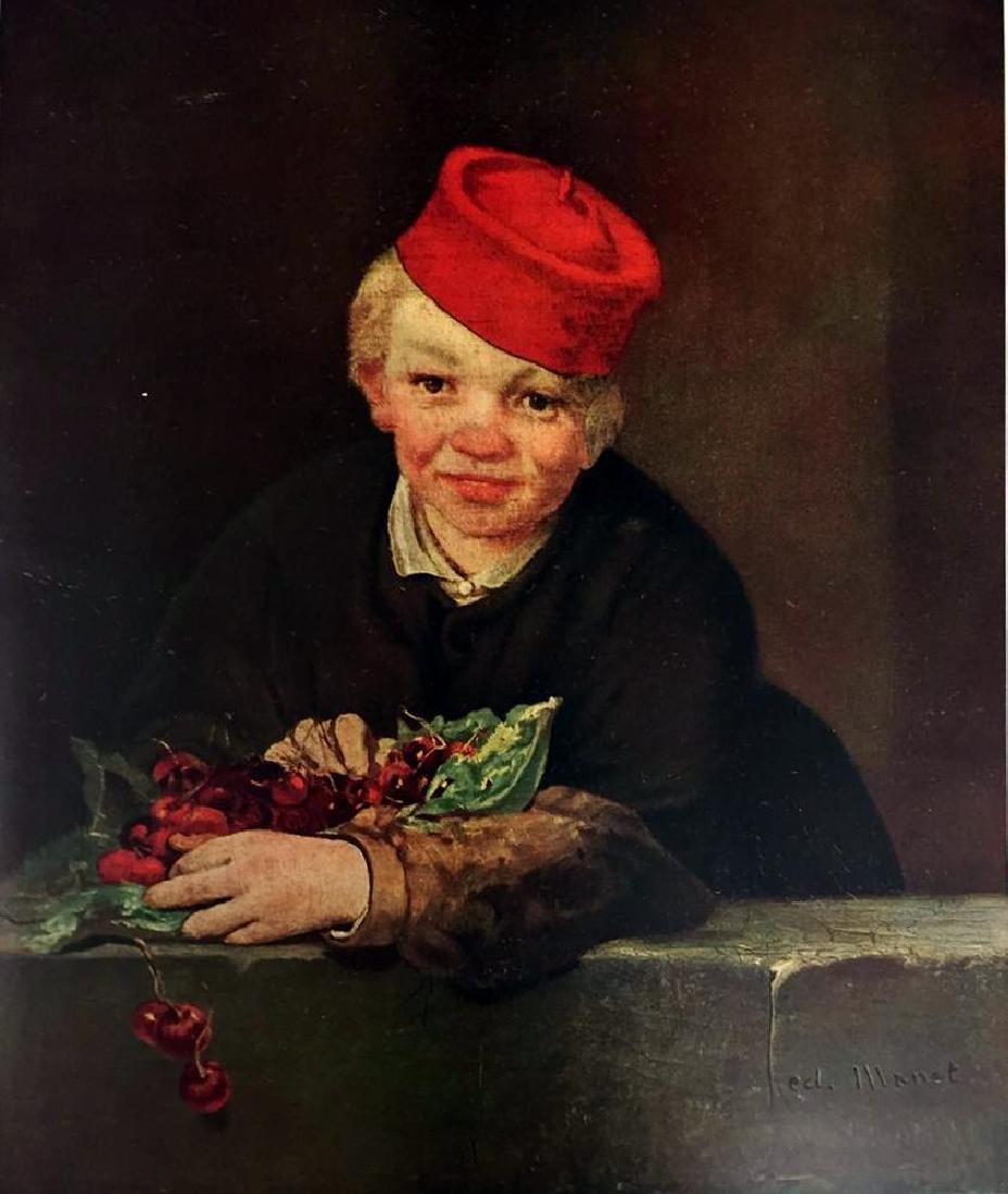 Edouard Manet Boy with Cherries c.1858 Fine Art Print - 2