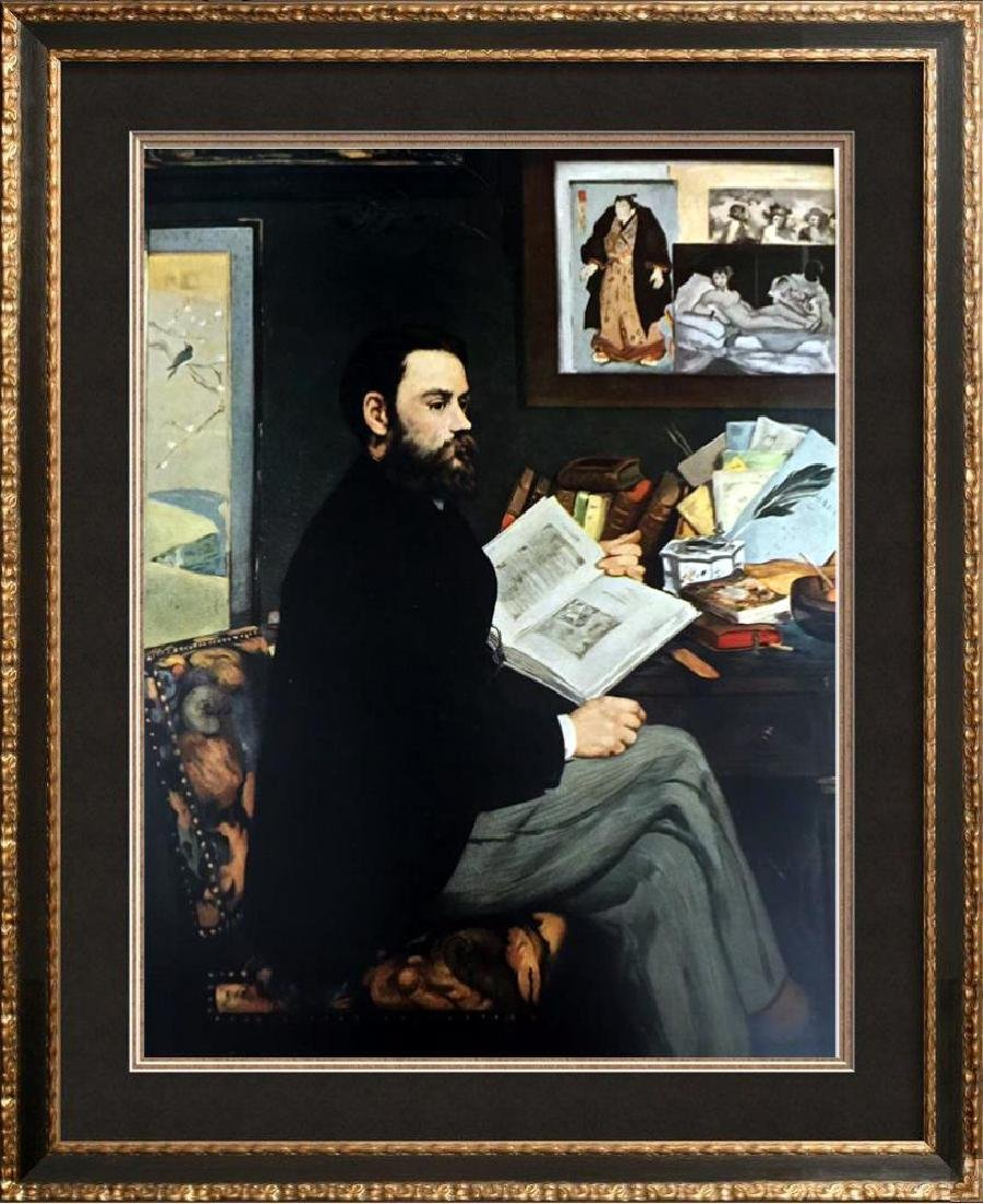 Edouard Manet Portrait of Emile Zola c.1868 Fine Art