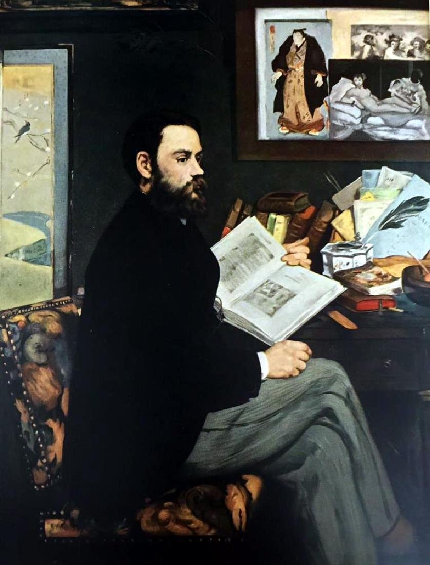 Edouard Manet Portrait of Emile Zola c.1868 Fine Art - 2