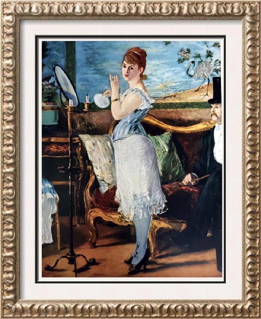 Edouard Manet Nana c.1877 Fine Art Print Signed in