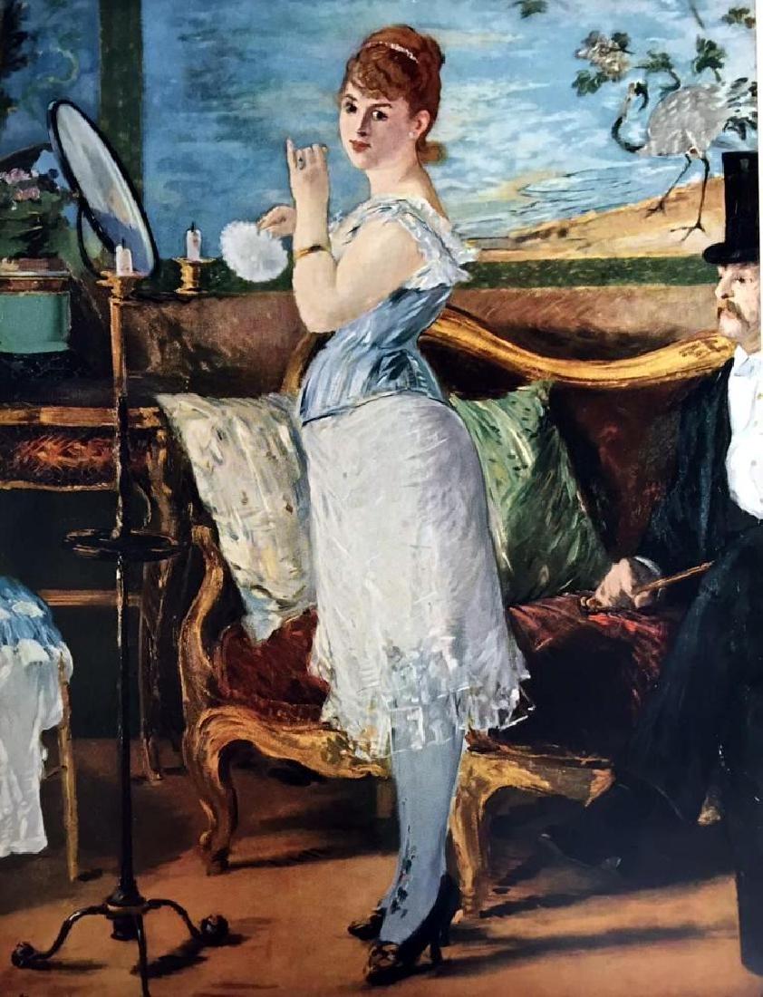 Edouard Manet Nana c.1877 Fine Art Print Signed in - 2