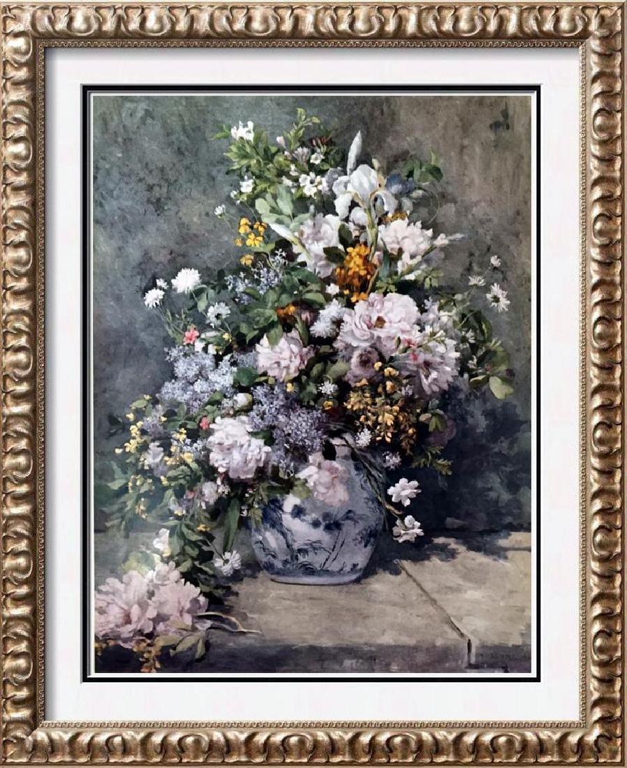 Manet, Edouard A Large Vase of Flowers c.1866 Fine Art