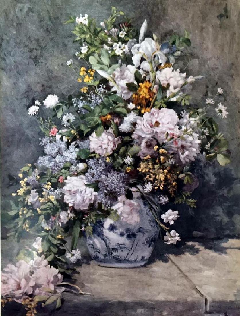 Manet, Edouard A Large Vase of Flowers c.1866 Fine Art - 2