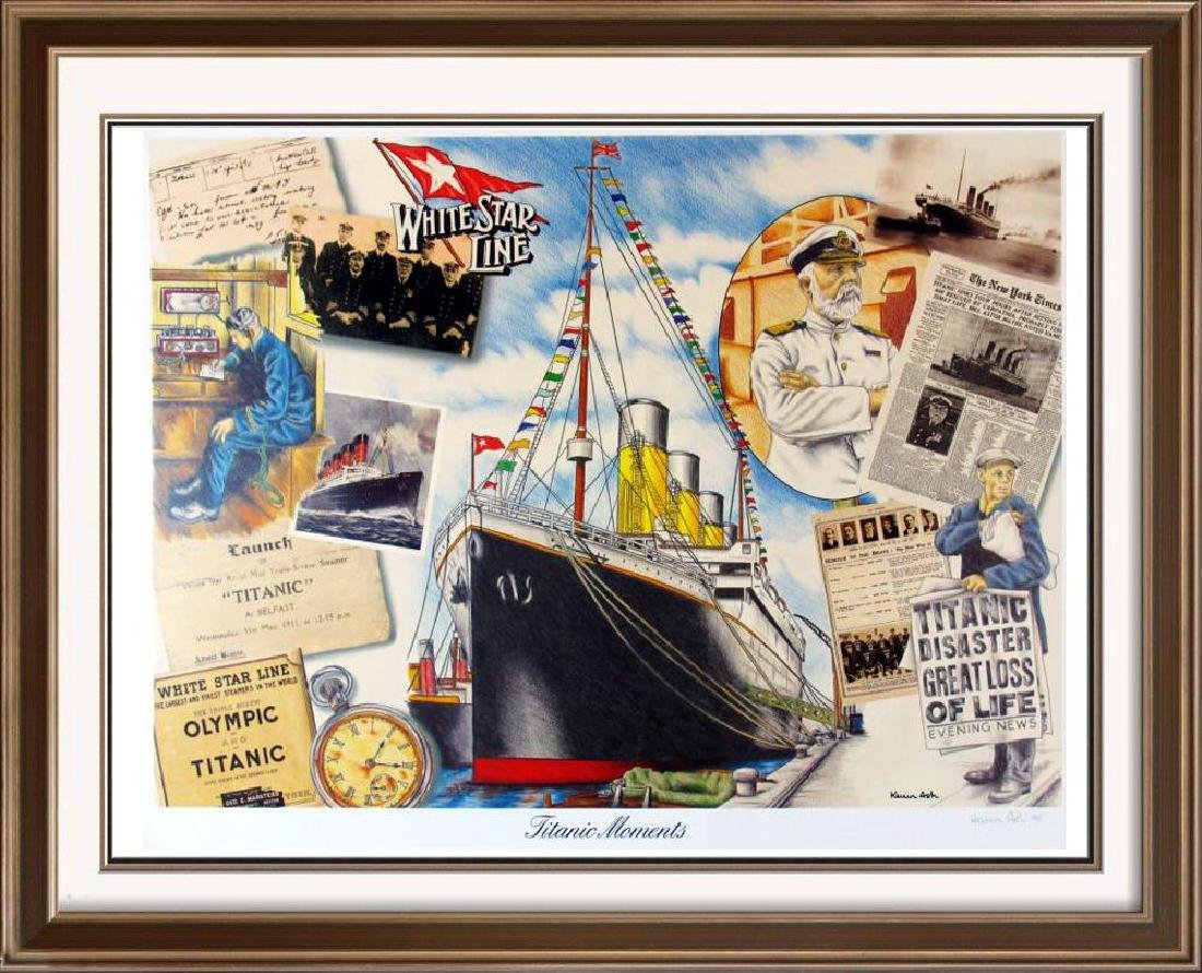 Titanic Fine Art Poster Rare Only $40 / $150 Value