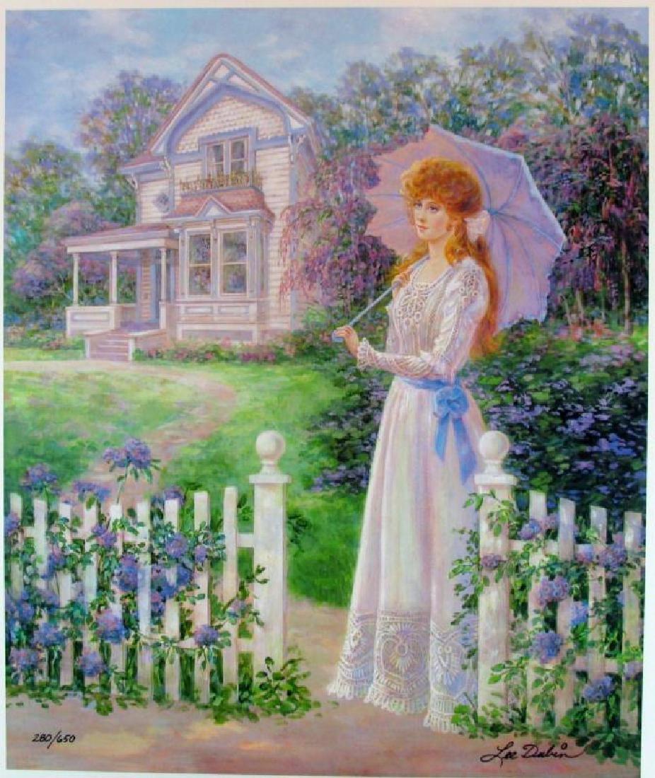 Victorian Home Impressionism Colorful Ltd Ed Sale