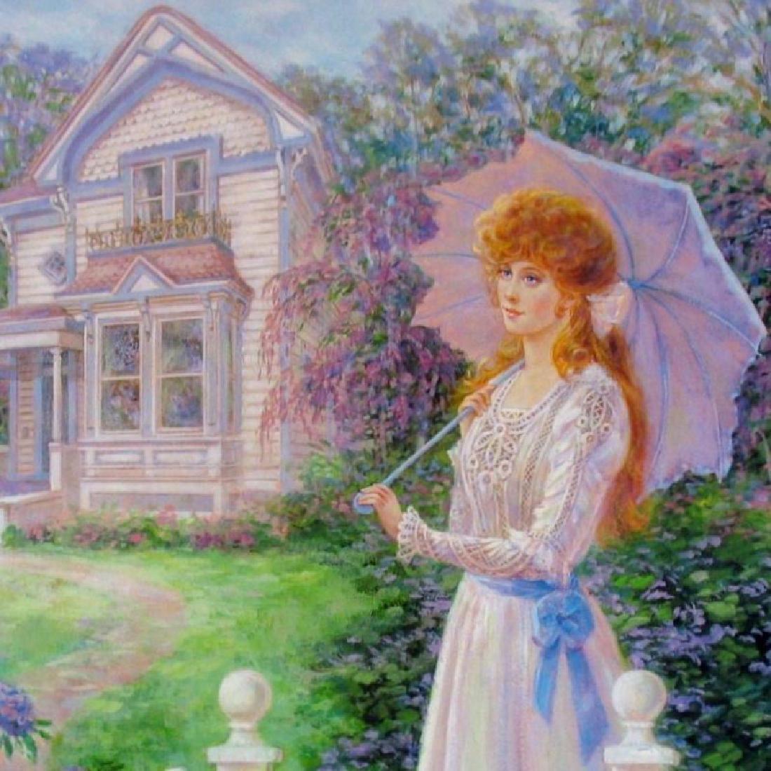 Victorian Home Impressionism Colorful Ltd Ed Sale - 2