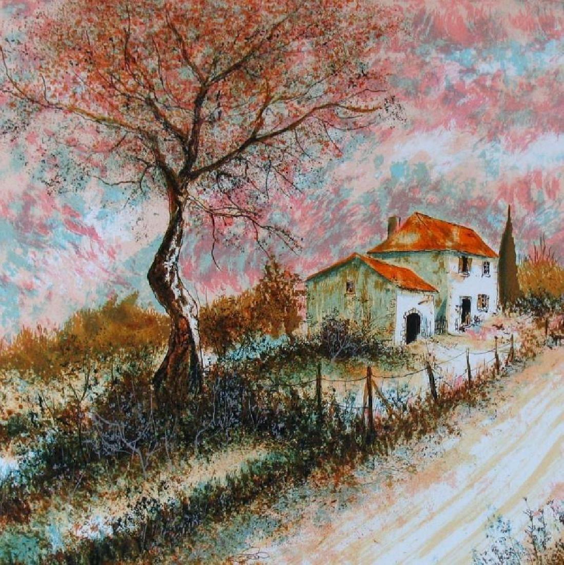 Impressionism Beautiful Signed Landscape Colorful Rare - 2