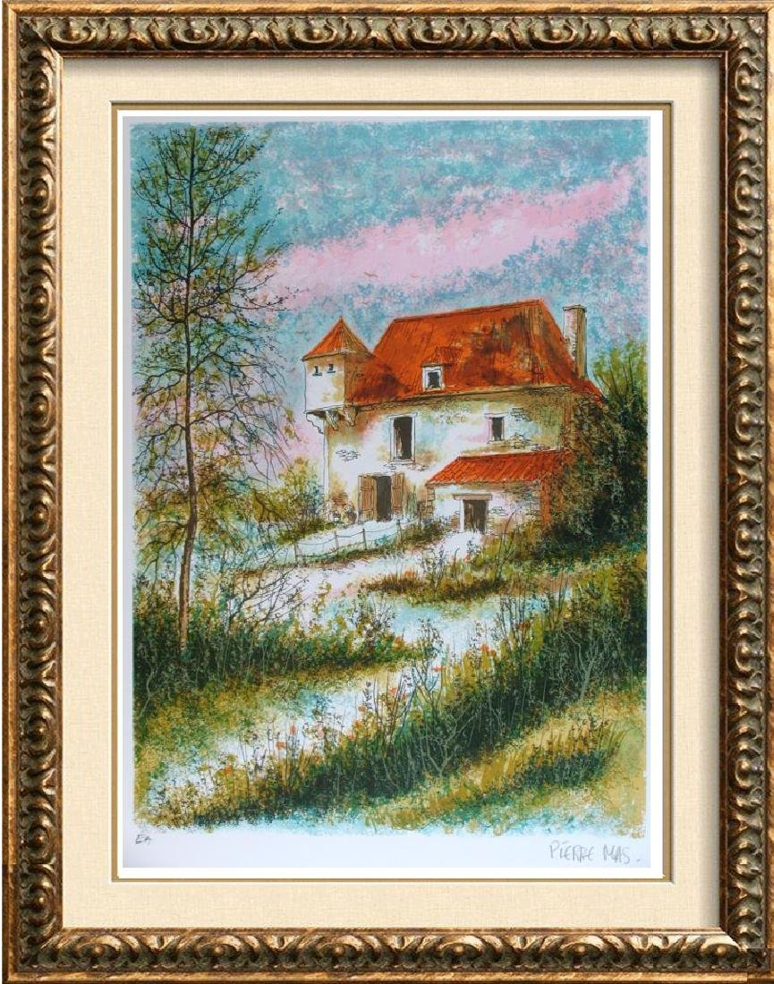Impressionism Beautiful Signed Landscape Colorful Rare