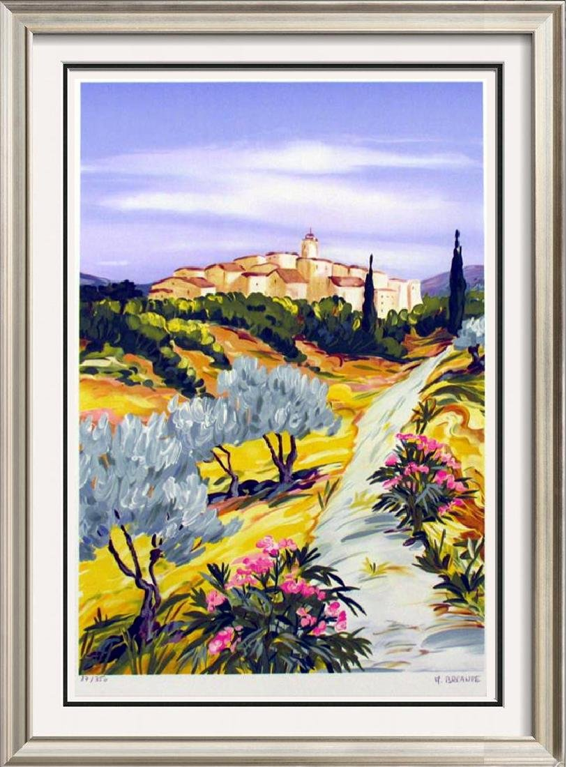 $ALE COLORFUL LIMITED EDITION SIGNED IMPRESSIONISTIC