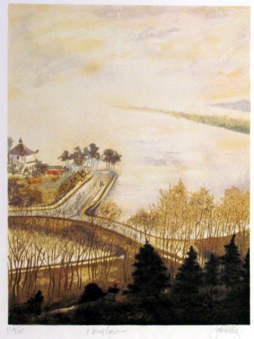 Hang Chow Asian John Kelly Rare Ltd Ed Litho Sale - 2