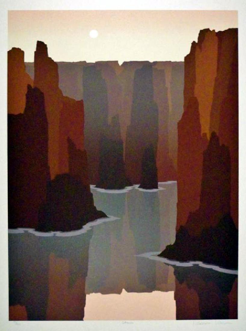 Southwestern Style Abstract Art Canyon Ltd Ed Sale - 2