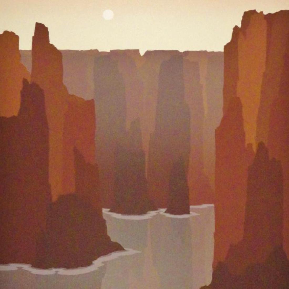 Southwestern Style Abstract Art Canyon Ltd Ed Sale - 3
