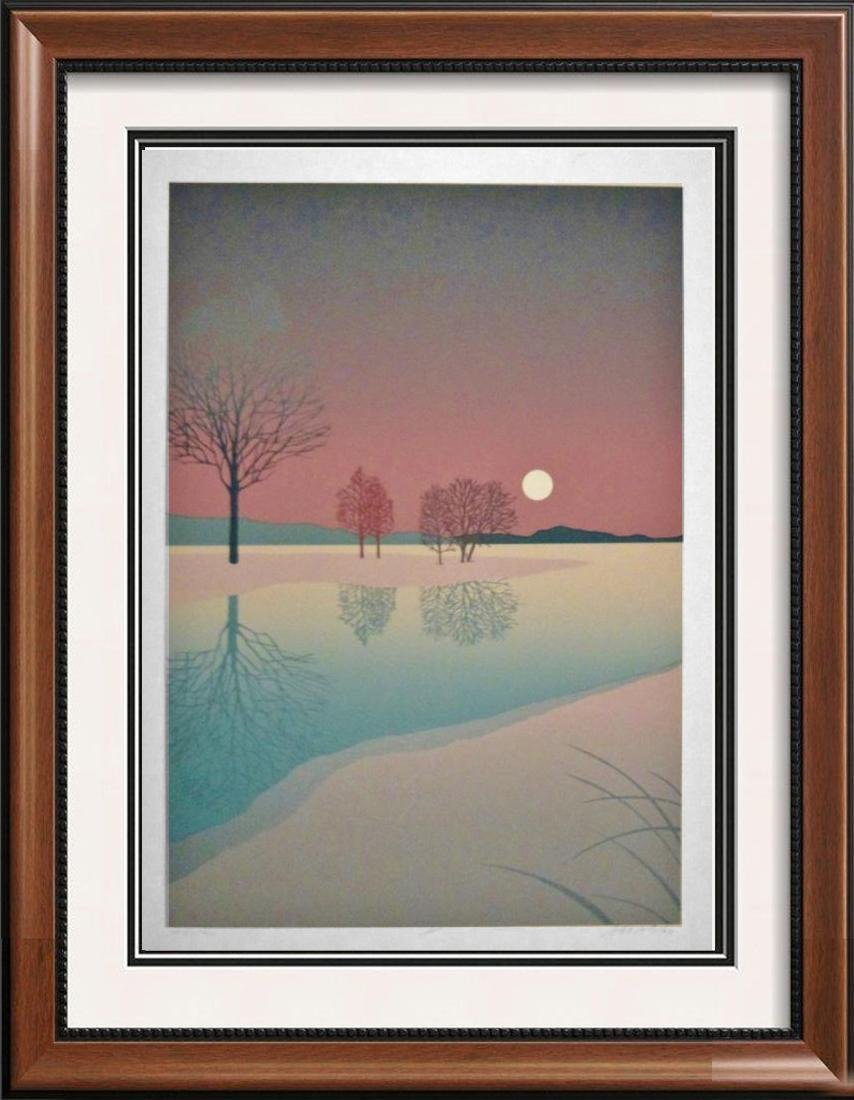 Beautiful Jewel Tone Signed Limited Edition Abstract