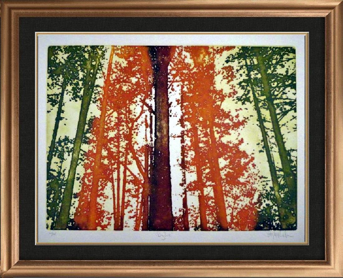 Etching Big Sur Colored Signed Ltd Ed Value=Great