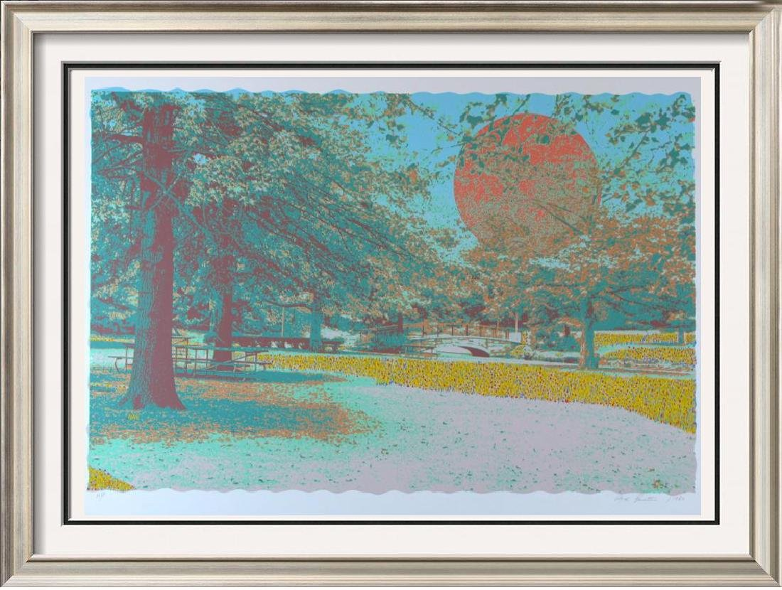 Pointellism Style Hand Signed Limited Edition Landscape