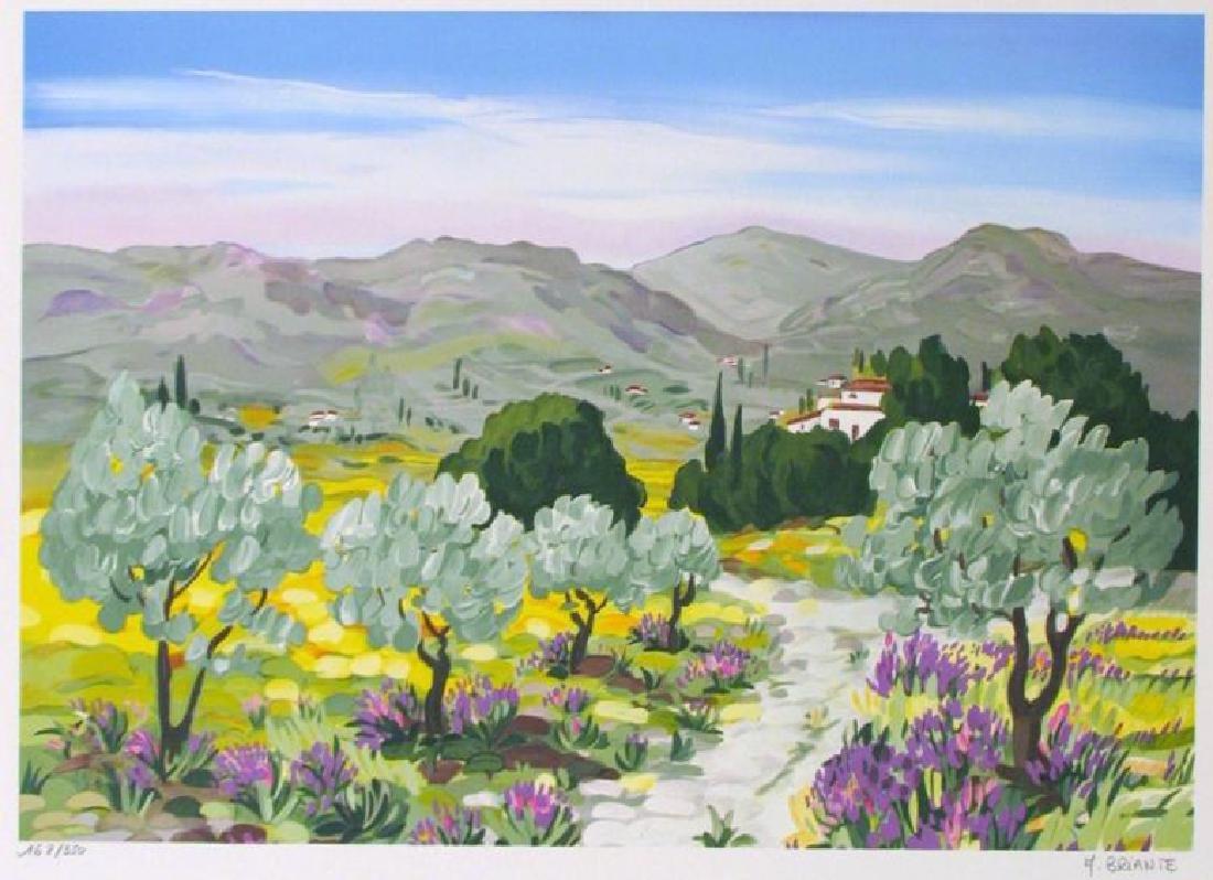 MOUNTAIN LANDSCAPE IMPRESSIONISM COLORFUL ART SALE - 2