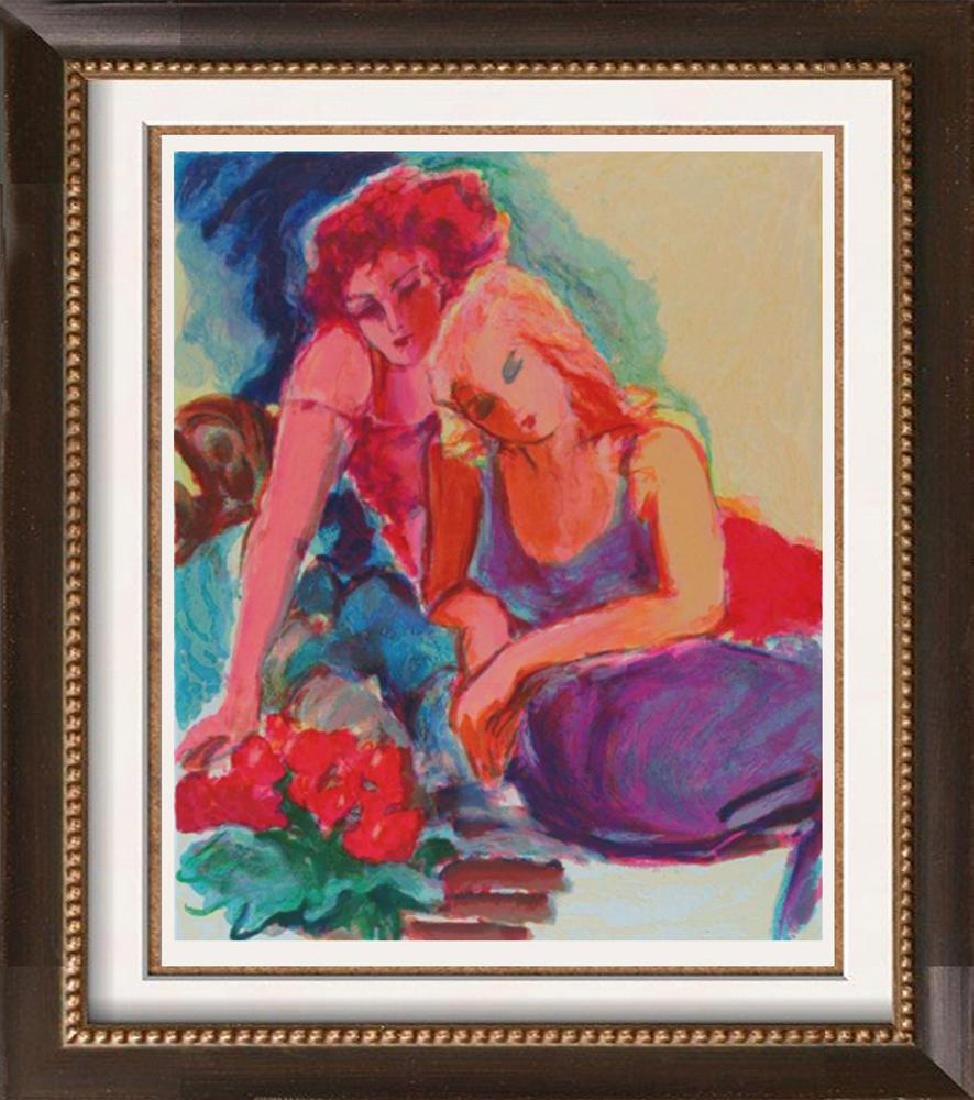 Colorful Maimon-Style Watercolor Look Women Signed - 3