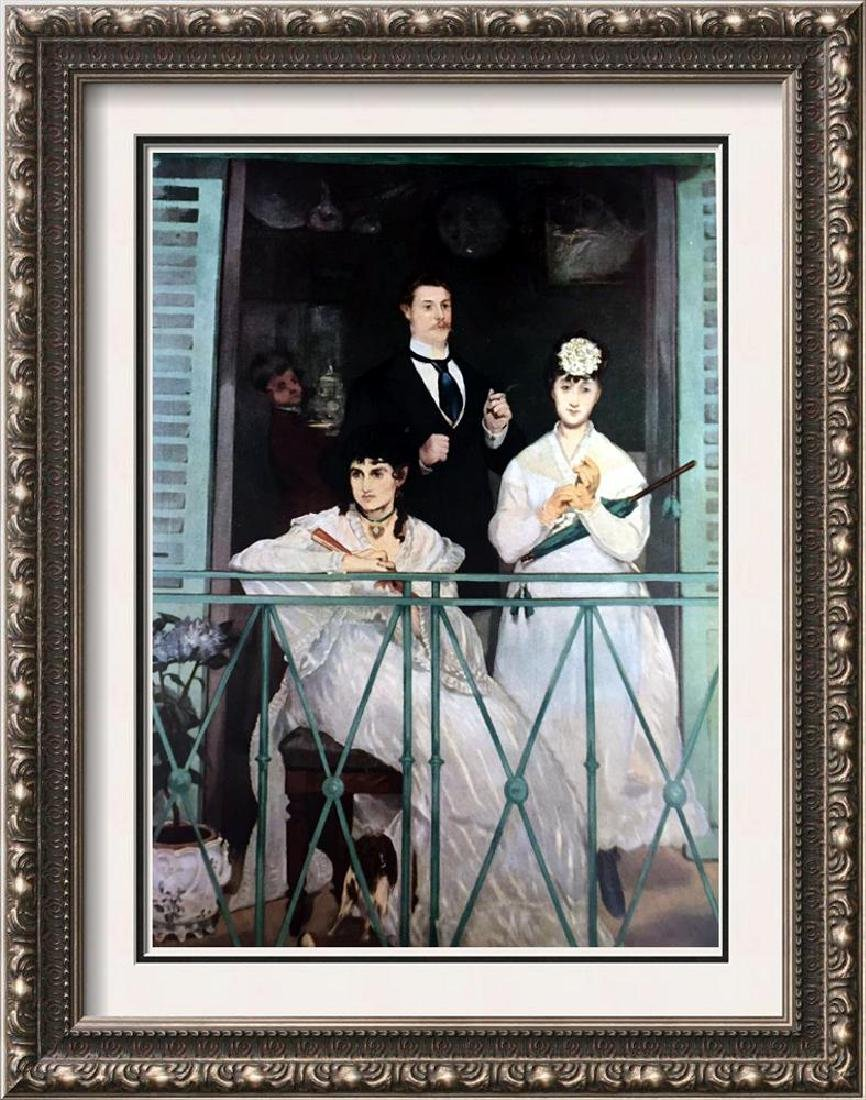 Edouard Manet The Balcony c.1869 Fine Art Print