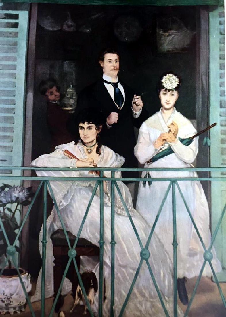 Edouard Manet The Balcony c.1869 Fine Art Print - 2