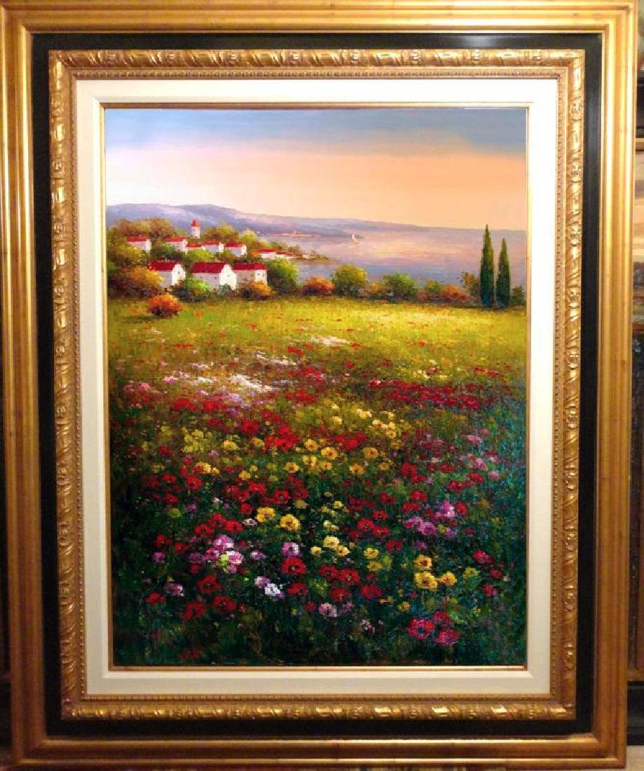 Floral Colorful Original Painting Dealer SALE Landscape