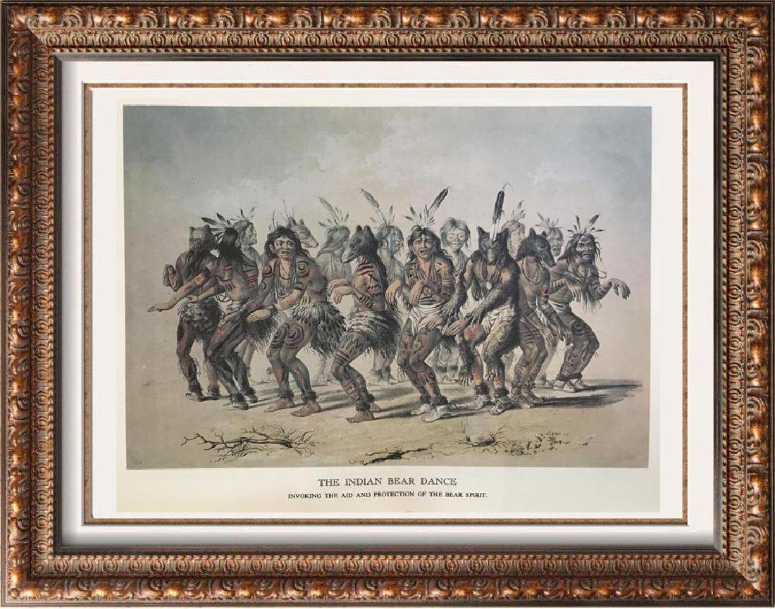 The North American Indian: The Indian Bear Dance