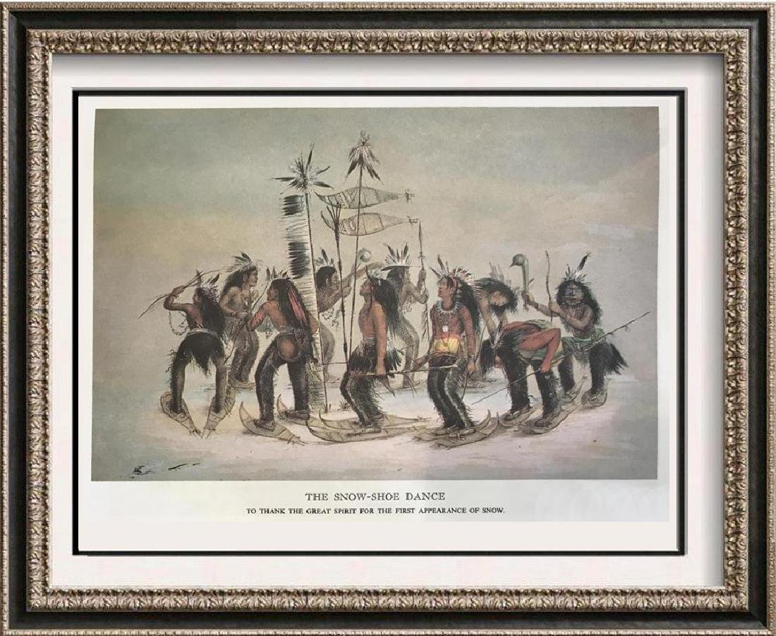 The North American Indian: The Snow Shoe Dance