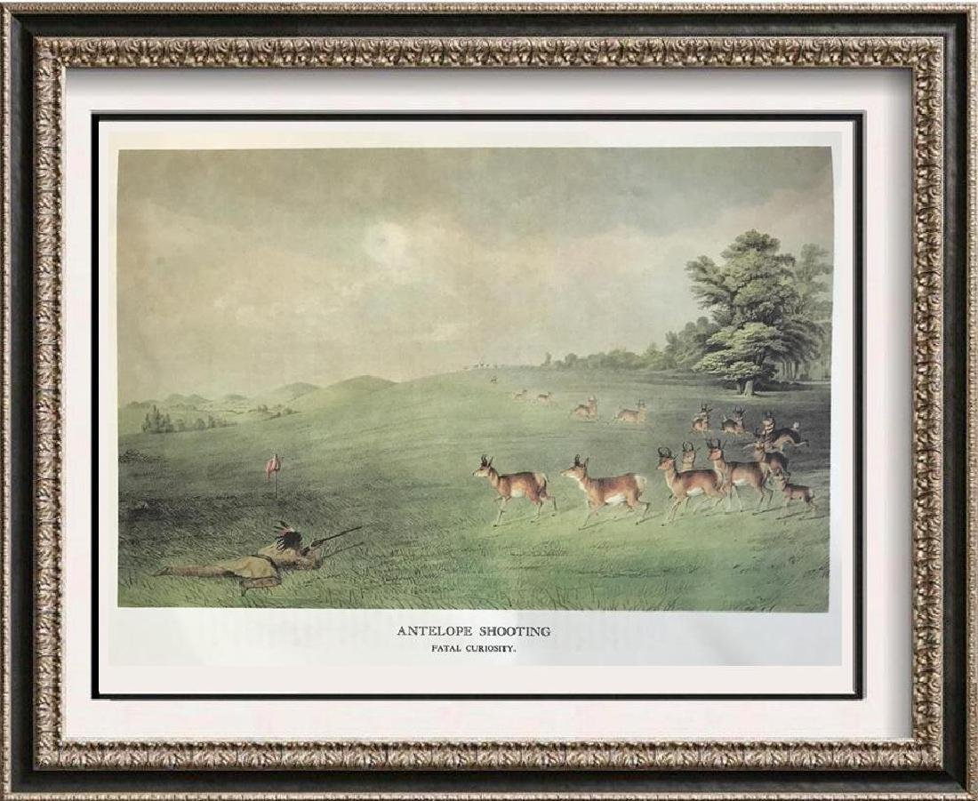 The North American Indian: Antelope Shooting