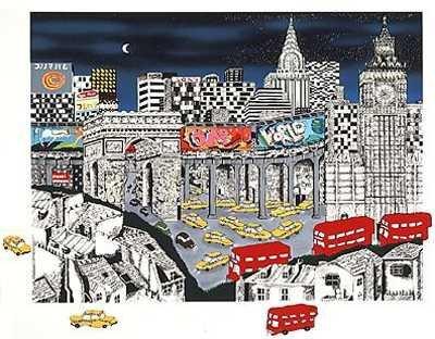 438B: Pergola One World HUGE SALE Ltd Ed London Scene