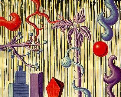 3612B: ACID Rain Kenny Scharf POP Art Sold Out Edition