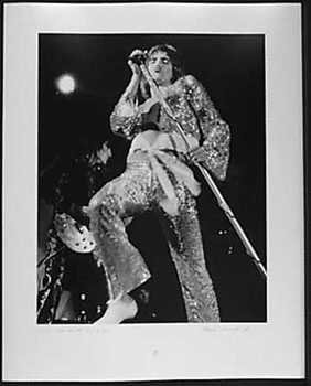 050982F: RARE Rod Stewart Signed 1972 Signed Photo