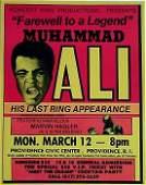 3056F Muhammad Ali Rare Vintage Poster Collectible