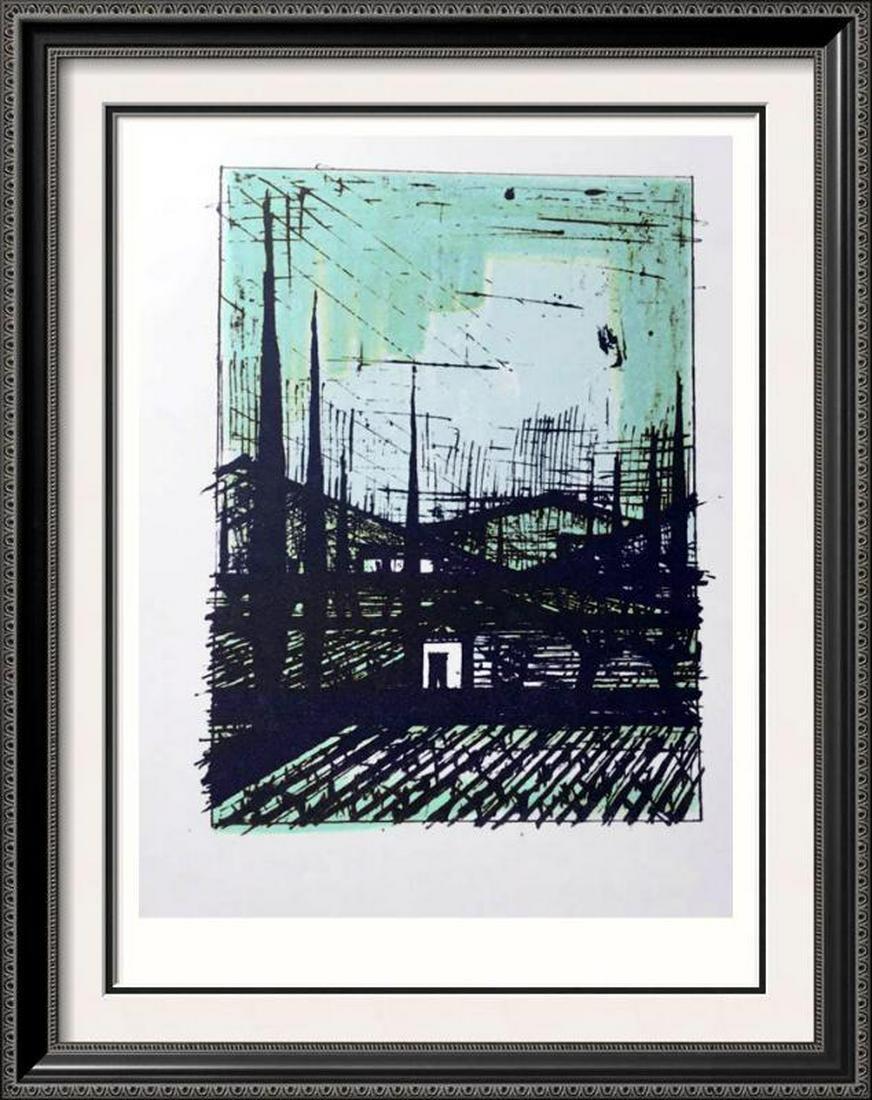 Bernard Buffet A Provencal Landscape Full Color Print,