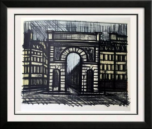 Enjoyable Bernard Buffet Paris La Porte Saint Martin Full Color Aug Home Interior And Landscaping Palasignezvosmurscom