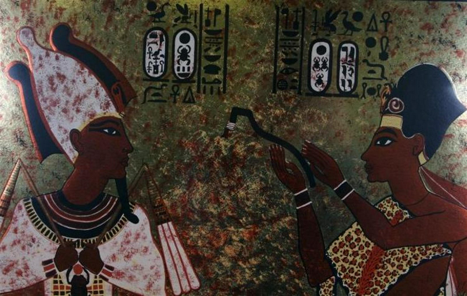 King Tut Eygptian Signed Limited Edition Great Art Sale