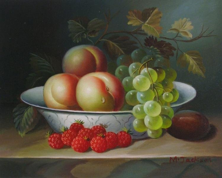 Still Life Fruit Realism - Buy 2 Get Free Shipping