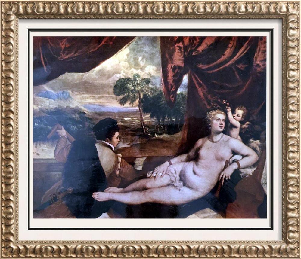 Tiziano Vecellio Titian Venus and the Lute Player